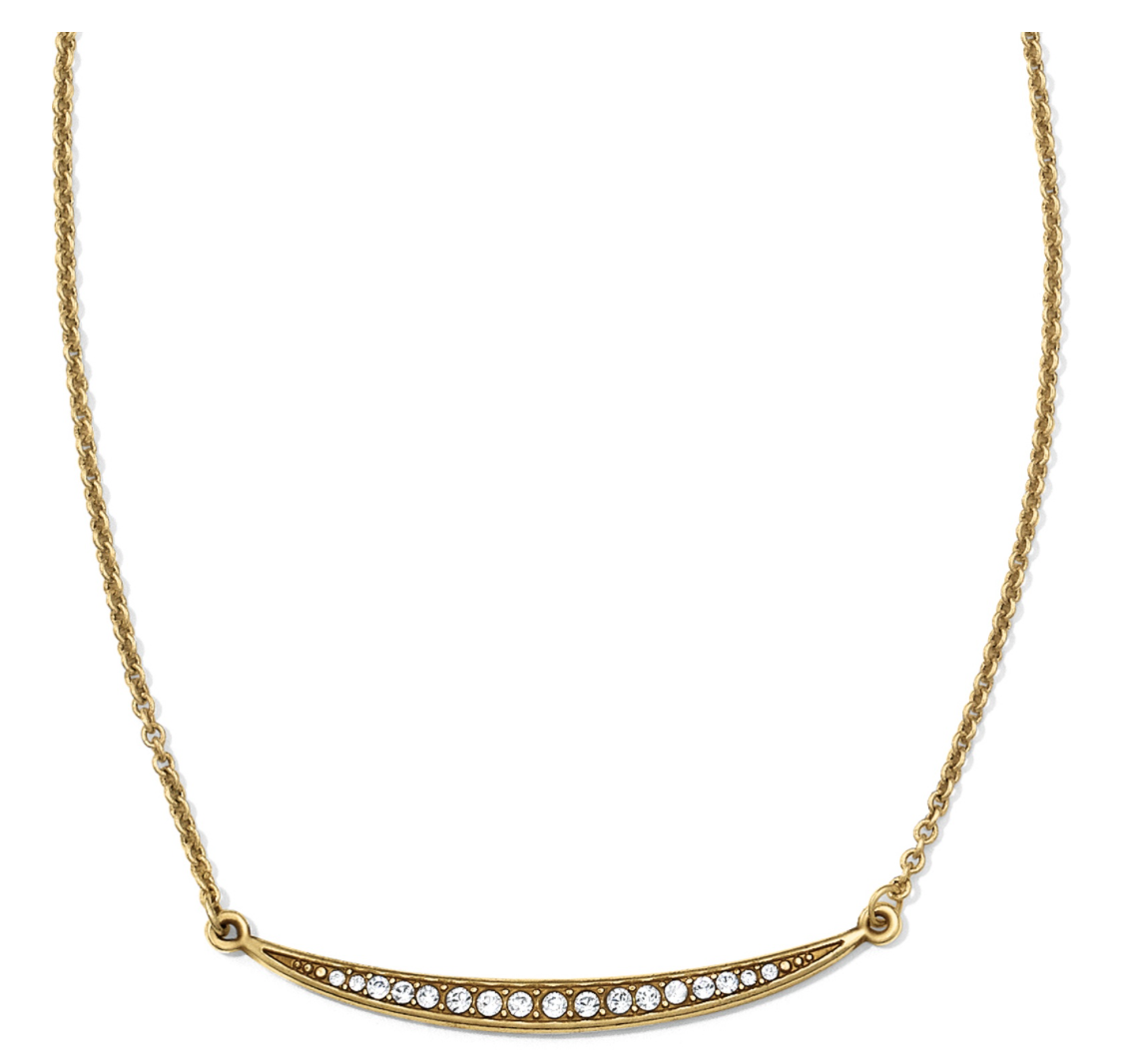 Brighton- Contempo Ice Reversible Necklace in Gold