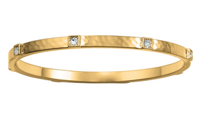 Brighton- Meridian Zenith Station Bangle in Gold