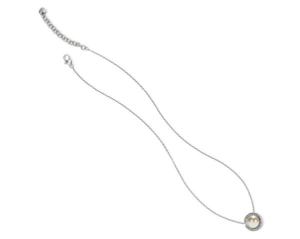 Brighton- Chara Ellipse Pearl Short Necklace