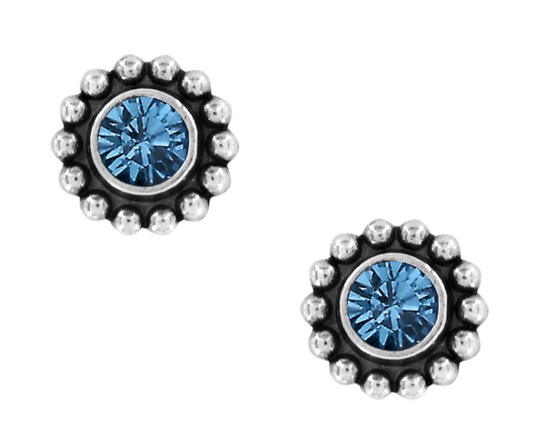Brighton- Twinkle Mini Post Earrings in Assorted Colors