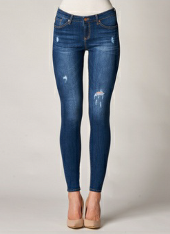 Dear John Denim- Gisele High Rise Skinny in Threshold
