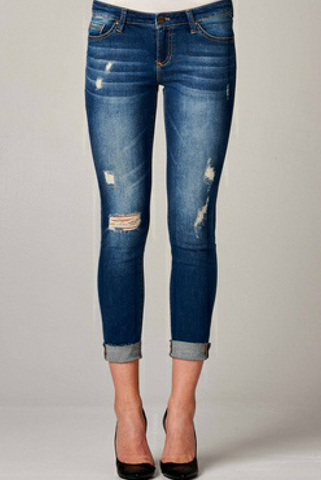 Dear John Denim- Joyrich Ankle Skinny in Harvey