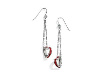 Brighton- Spectrum Petite Red Heart French Wire