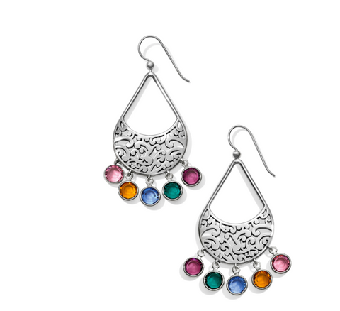 Brighton- Elora Gems Drops French Wire Earrings