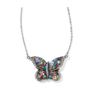 Brighton- Trust Your Journey Reversible Butterfly Necklace