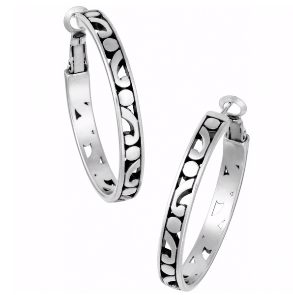 Brighton- Contempo Medium Hoop Earrings