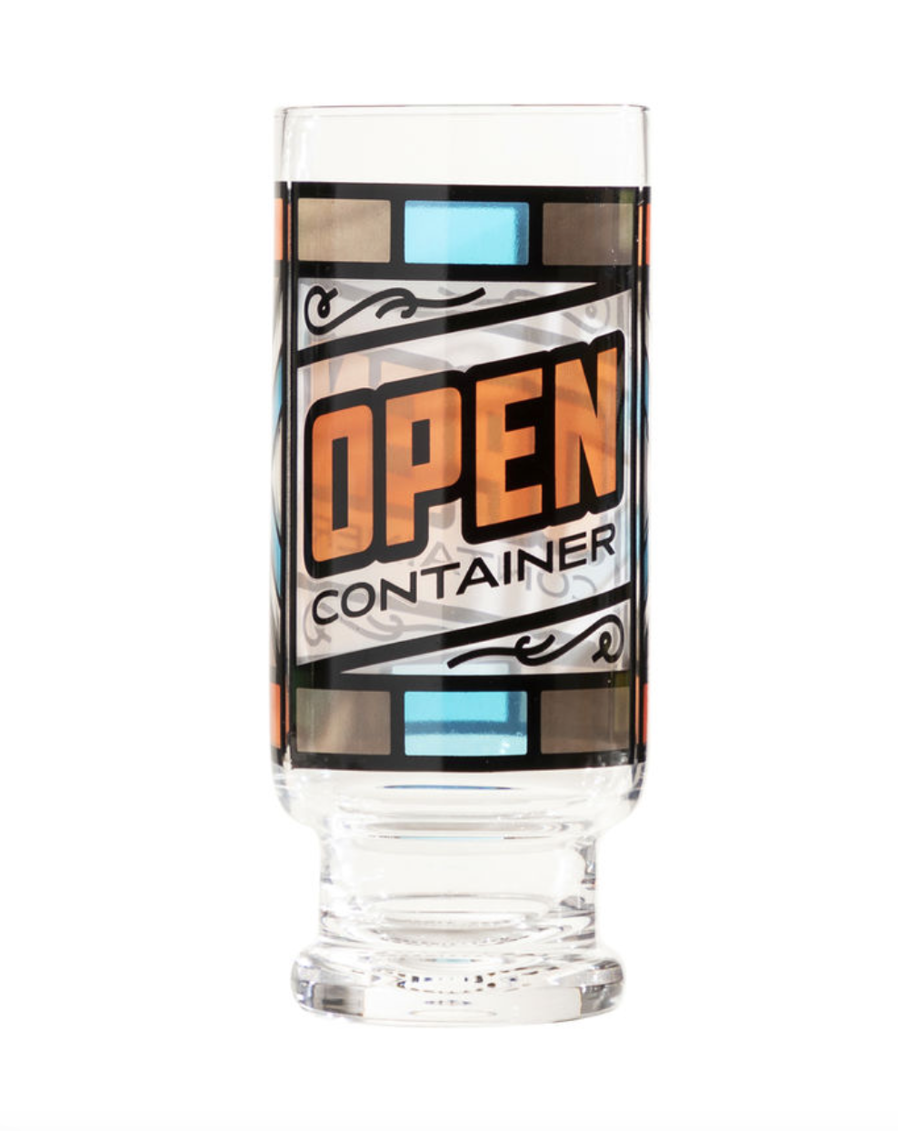 Easy Tiger- Open Container Beer Glass