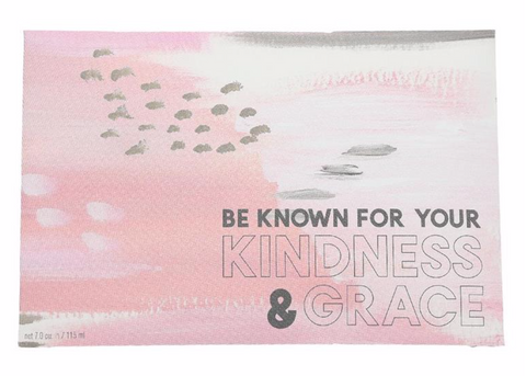 "Bridgewater Candle Company- ""Be Known"" Inspirational Quote Sweet Grace Scented Sachet"