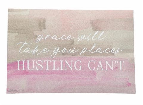 "Bridgewater Candle Company- ""Hustling"" Inspirational Quote Sweet Grace Scented Sachet"