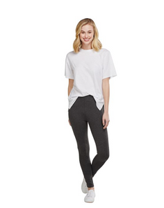 Mud Pie- Lively Moto Legging Gray