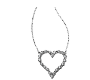 Brighton- Twinkle Splendor Heart Necklace