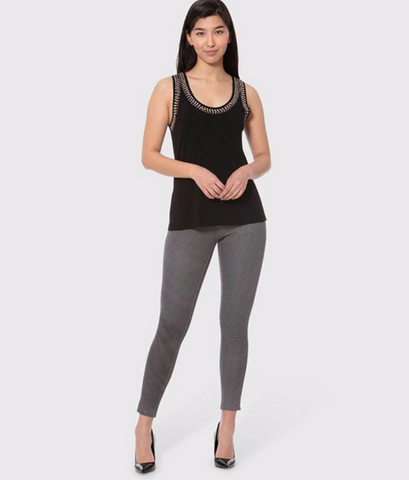 Lola Jeans- Janice Pant in Jersey Houndstooth