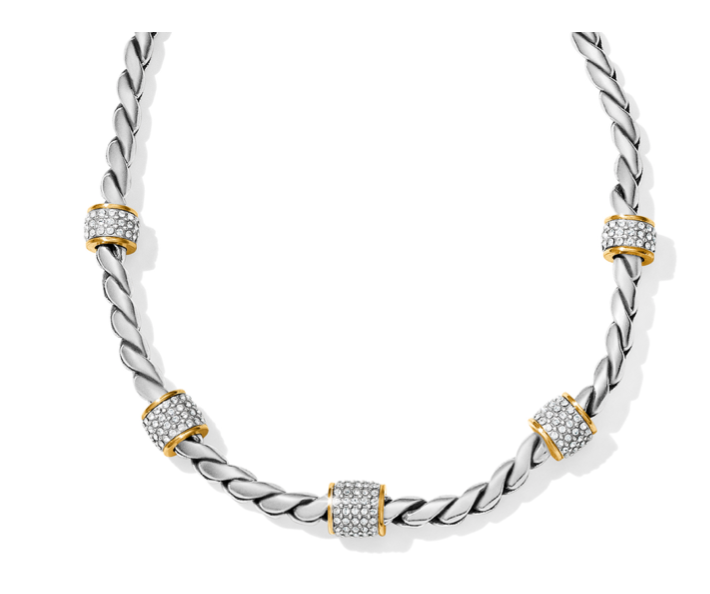 Brighton- Meridian Two Tone Necklace