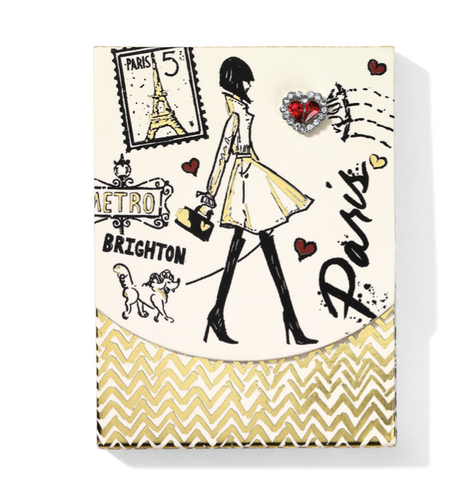Brighton- Fashion Passport Pocket Notepad
