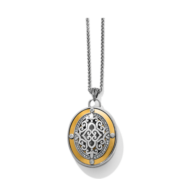 Brighton- Intrigue Convertible Locket Necklace