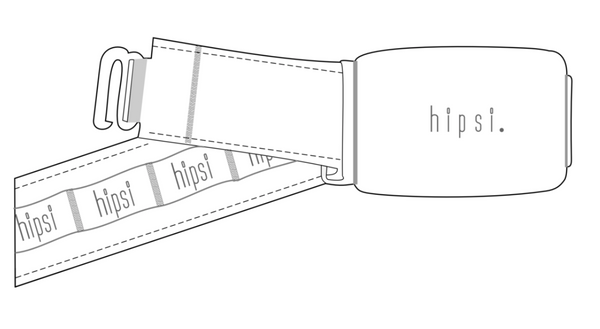 Hipsi- Belt Set in Grey