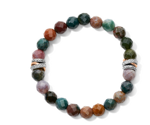 Brighton- Neptune's Rings Jasper Stretch Bracelet