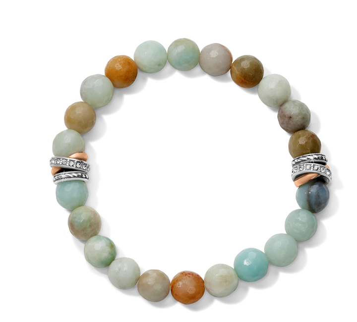 Brighton- Neptune's Rings Amazonite Stretch Bracelet