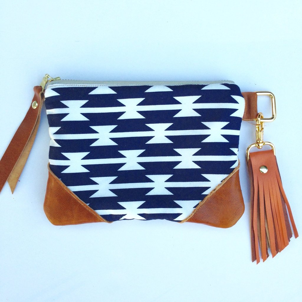 Melmax Design - Geometric Stripe Wallet