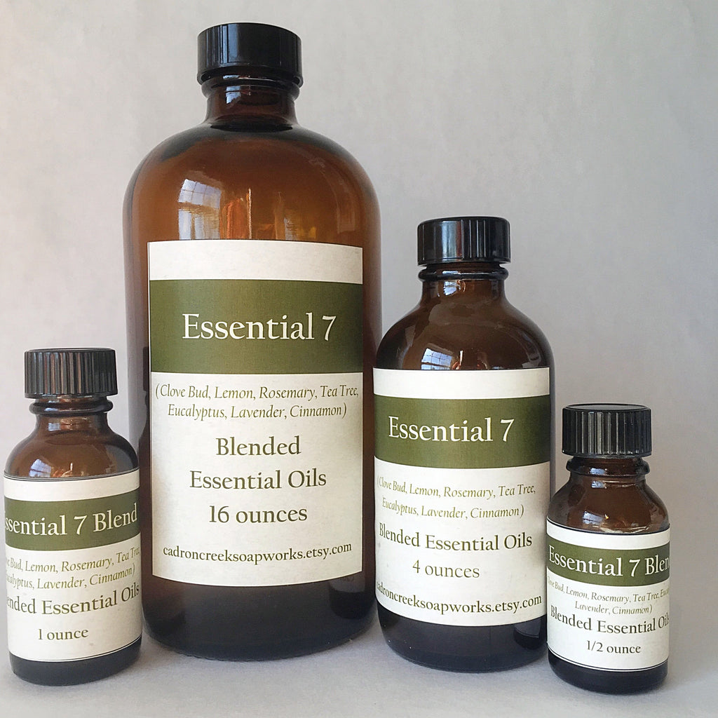 Bulk Essential Oil, Essential 7 Blend