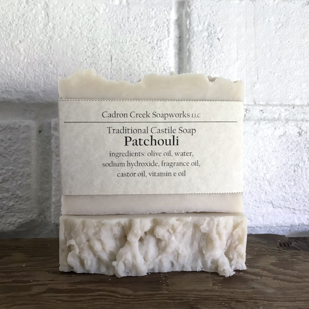 Traditional Castile Patchouli Handmade Soap