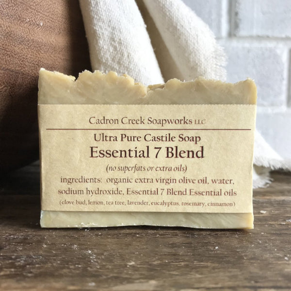 Ultra Pure Castile Essential 7 Handmade Soap