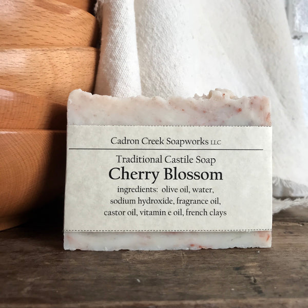 Traditional Castile Cherry Blossom Handmade Soap