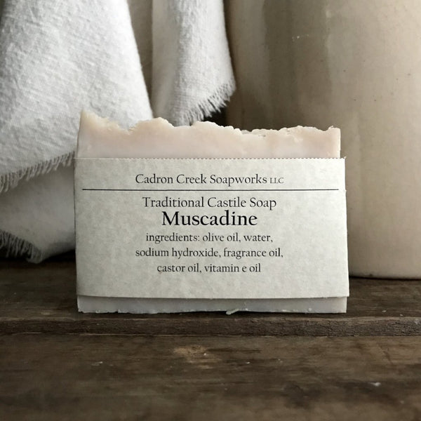 Traditional Castile Muscadine Handmade Soap