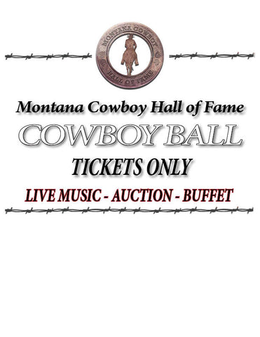 2017 Cowboy Ball Tickets