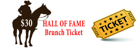 2017 Circle The Wagons - Hall of Fame Induction Brunch Ticket