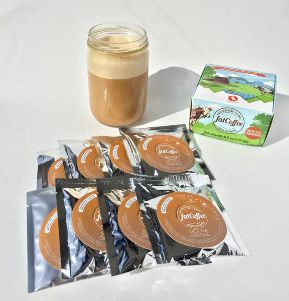 fatCoffee - Amazing 100% Grass-Fed Butter Coffee Anywhere, Any Time, in 60 Seconds