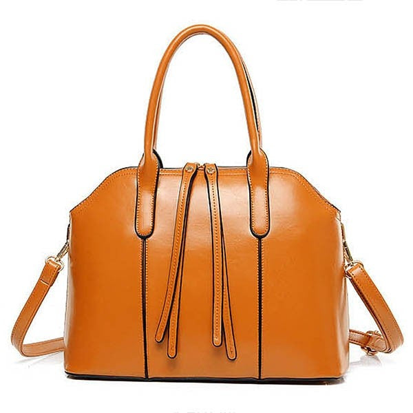 Nice Quality 4-PC PU Leather Women's Tote Purse Set 3 Colors