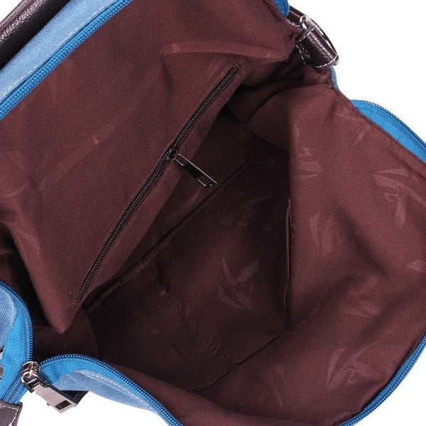 Large Casual Multifunctional Canvas Backpack 5 Colors