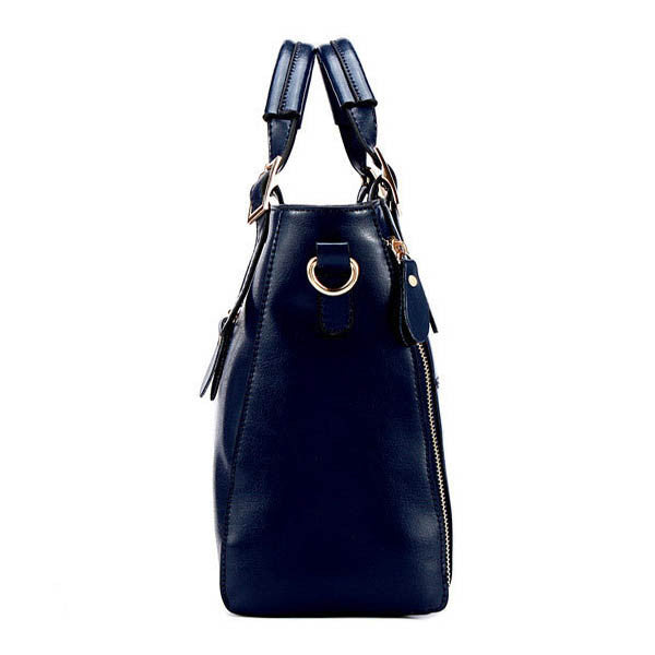 Ladies Fashion PU Leather Shoulder Bag 4 Colors
