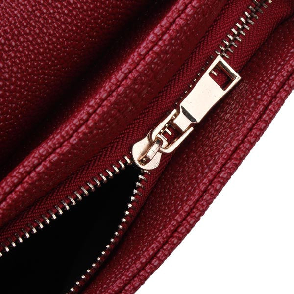 Ladies Fashion PU Leather Chain Cross-Body Bag 4 Colors