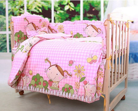 Adorable Pink Sweet Strawberry Girl 4-PC Nursery Baby Set 2 Sizes-Loluxe