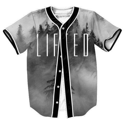 Baseball-Style Men's Lifted Jersey Casual Top S-3XL-Loluxe