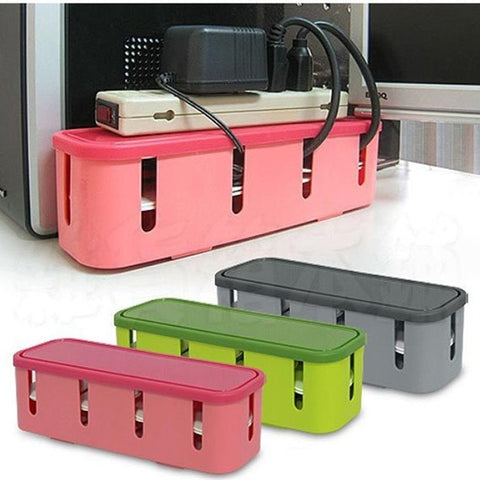 Candy-Colored Safety Socket Organizer Container 3 Colors-Game Room > Dart Boards-Loluxe