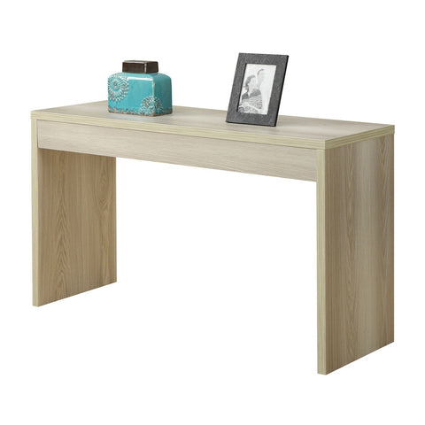 Contemporary Sofa Table Console Table in Weathered White Wood Finish-Living Room > Console & Sofa Tables-Loluxe