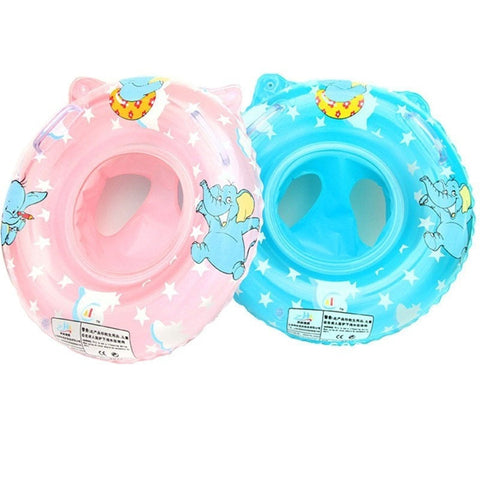 Cute Quality Elephant Safety Swimming Pool Ring w/Seat 2 Colors-Loluxe