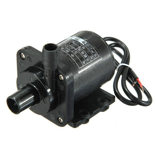 DC 12V 1A Powerful Micro Brushless Magnetic Amphibious Appliance Water Pump-Pump-Loluxe