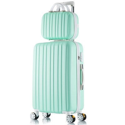 Elegant High-Quality Fashion Universal Wheel Trolley Hardside Luggage Set 8 Colors 3 Sizes-Loluxe