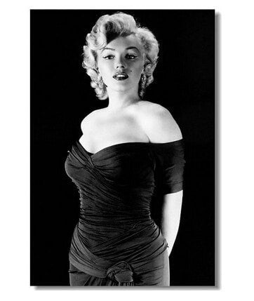 "Famous High Quality Marilyn Monroe Custom Clasic 20x30"" Poster Wall Sticker Wall Decor 6 Options-Loluxe"