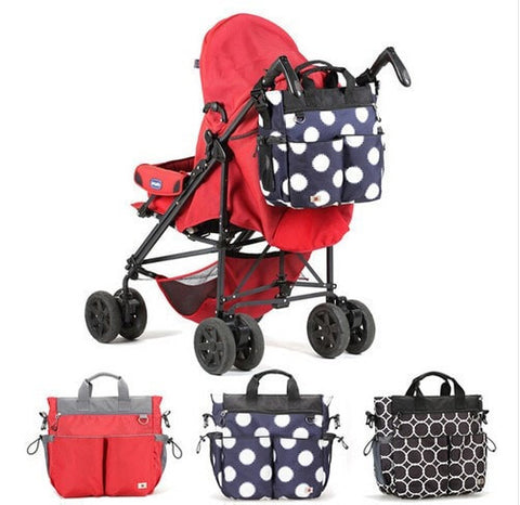 Fashion Design Print Large Capacity Waterproof Multifunction Diaper Bag 3 Designs-Loluxe