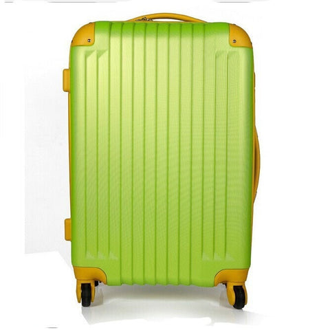 High-Quality Colorful Hardside Coded Lock Rolling Luggage 6 Colors-Loluxe