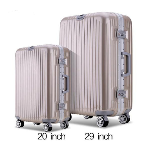 Quality Hardside TSA Lock Trolley 2-PC Luggage Set 2 Colors