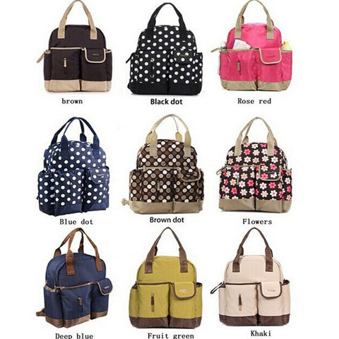 Lovely New Fashion Designer Print Multifunctional Waterproof Shoulder/Backpack 6 Colors-Loluxe