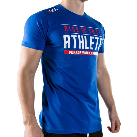 Men's Athletic Gym Workout Tee S-XL 7 Colors-Loluxe