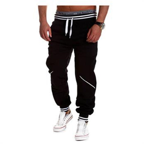 Men's Harem-Style Comfortable Casual Leisure Drawstring Sweat Pants M-2XL 4 Colors-Loluxe