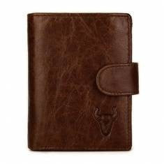 Men's Leather Practical Business Big Capacity Wallet-Loluxe